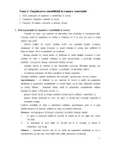 Organizarea Contabilității în Ramura Comerțului - Pagina 1