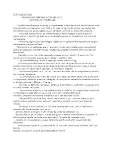 Organizarea Generala a Contabilitatii Societatilor Comerciale - Pagina 1