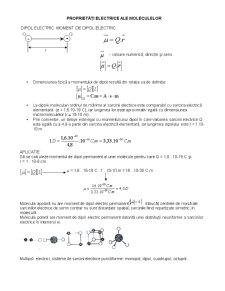 Proprietatile Electrice ale Moleculelor - Pagina 1