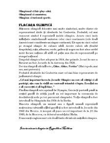 Istoria Jocurilor Olimpice. Istorie și Contemporaneitate - Pagina 5