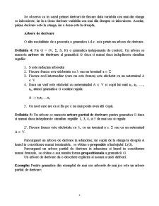 Gramatici Libere de Context - Pagina 2