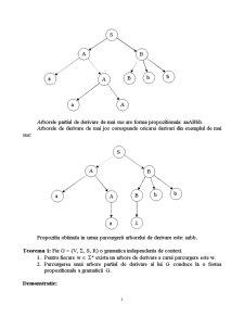 Gramatici Libere de Context - Pagina 3