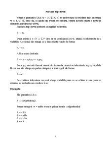 Gramatici Libere de Context - Pagina 5