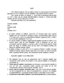 LEX - Lexical Analyzer - Pagina 1