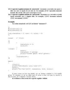 LEX - Lexical Analyzer - Pagina 3