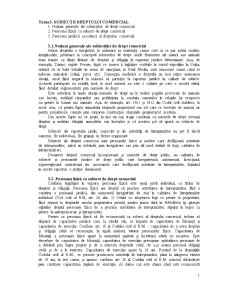 Subiecții Dreptului Comercial - Pagina 1