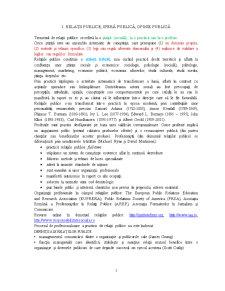 Fundamente ale Relatiilor Publice - Pagina 1