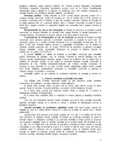 Constituirea și Funcționarea Societăților Comerciale - Pagina 2