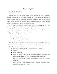 Pigmenți Organici - Pagina 1