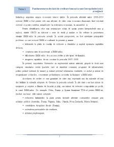 Fundamentarea Deciziei de Creditare Bancara a Unui IMM - Pagina 3