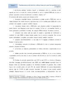 Fundamentarea Deciziei de Creditare Bancara a Unui IMM - Pagina 4