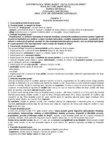 Drept Penal - Pagina 1