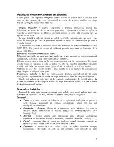 Dreptul Tratatelor, Organizatiile Internationale - Pagina 1