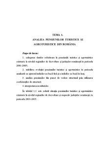 Analiza Economica a Unitatilor de Alimentatie Publica si Agroturism - Pagina 2
