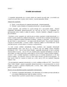 Organizatii Internationale - Pagina 1
