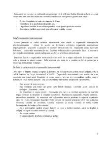 Organizatii Internationale - Pagina 2