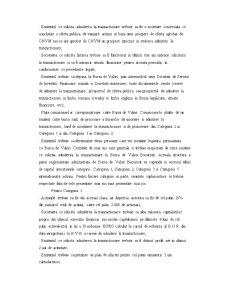 Listarea Actiunilor la Cota Bursei de Valori Bucuresti - Pagina 2