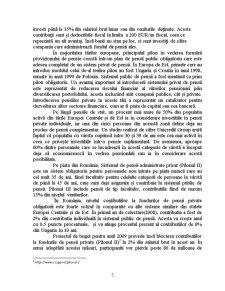 Analiza Comparativă a Sistemelor de Pensii Private din România și Croația - Pagina 5