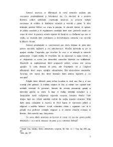 Federalism si Prezidentialism - Analiza Sistemului Administrativ Federal in Statele Unite - Pagina 3