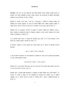 Metanul - Pagina 1