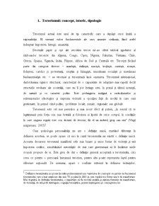 Implicatiile Psihologice ale Terorismului - Pagina 3