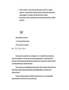 Structura Atomului - Pagina 2