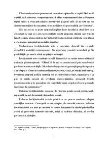 Educatia Prescolara - Premisa a Dezvoltarii Psiho-fizice a Copilului - Pagina 5