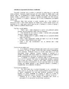 Determinarea Atitudinii Fata de Conflict - Testul Thomas-Kilmann - Pagina 5