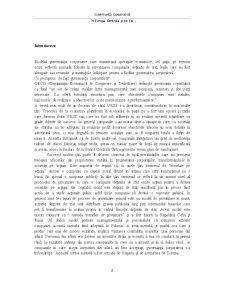 Guvernanță Corporativă - Pagina 2