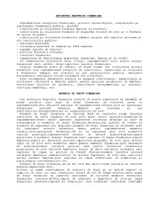 Drept Financiar - Pagina 1