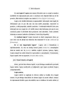Logica Computațională - Pagina 1
