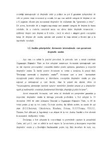 Drepturile Omului în Legislația Internațională - Pagina 3