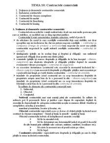 Contractele Comerciale - Pagina 1