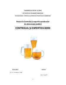 Controlul și Expertiza Berii - Pagina 1