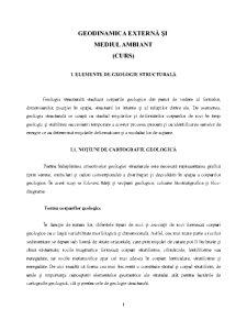 Geodinamica Externă și Mediul Ambiant - Pagina 1