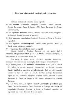 Organizarea Uniunii Europene - Pagina 2
