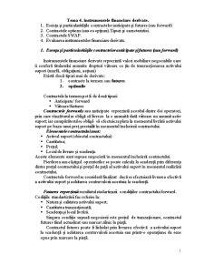 Instrumentele Financiare Derivate - Pagina 1