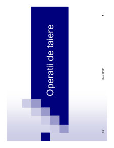 Bazele Proceselor de Deformare Plastica - Pagina 1