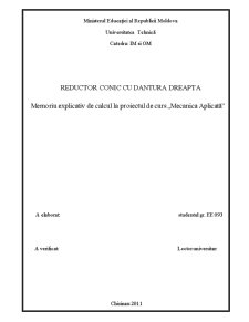 Reductor Conic cu Dintii Drepti - Pagina 3