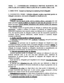 Drept Civil 4 - Teoria Generală a Obligațiilor - Pagina 2