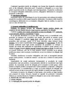 Drept Civil 4 - Teoria Generală a Obligațiilor - Pagina 3