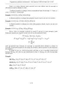 Programarea și Utilizarea Calculatorului - Pagina 2