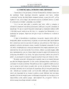 Introducere în Teoriile Comunicării - Pagina 4