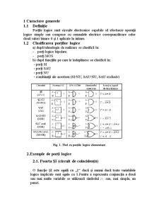 Studiul Portilor Logice - Pagina 4