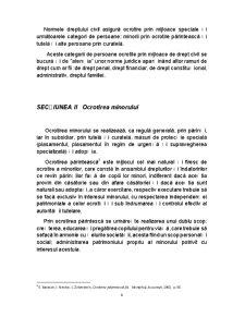 Ocrotirea Persoanei Fizice prin Mijloace de Drept Civil - Pagina 4