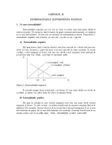 Externalitățile și Intervenția Statului - Pagina 1