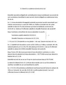 Cheltuieli Inregistrate in Avans - Pagina 2