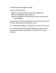 Cheltuieli Inregistrate in Avans - Pagina 5