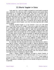 Biotehnica Medicala - Efectul Doppler - Pagina 3