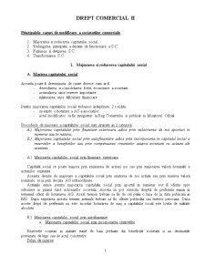 Drept Comercial II - Pagina 1